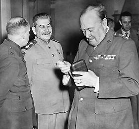 Щи для Черчилля и Сталина