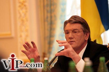 Грязные руки Ющенко (Фото)
