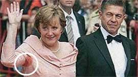 Ангела Меркель. Скандальные фото