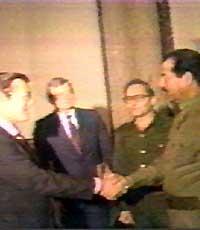 Саддама Хусейна привели к власти американские спецслужбы. Они начали использовать его еще в 1959 году