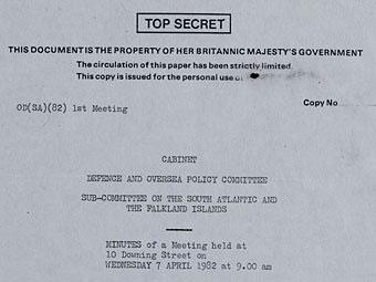 Великобритания рассекретила документы о советских самолетах-шпионах