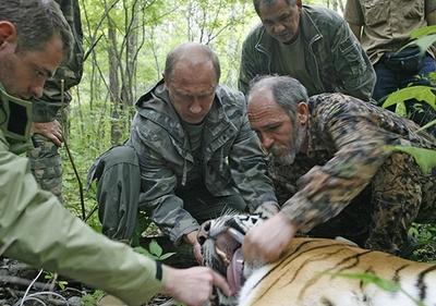 Путин и твари (Фото)