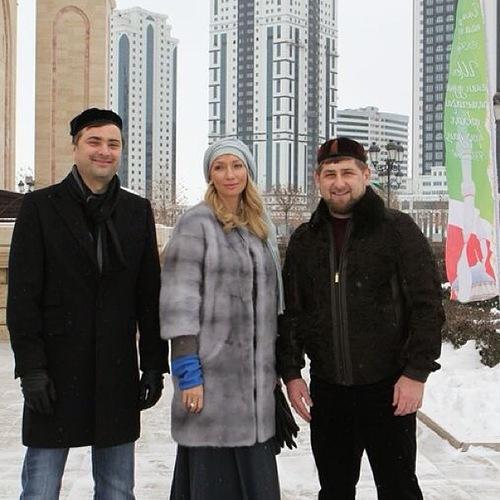 Сурков в гостях у Кадырова: пропавший фотоотчет