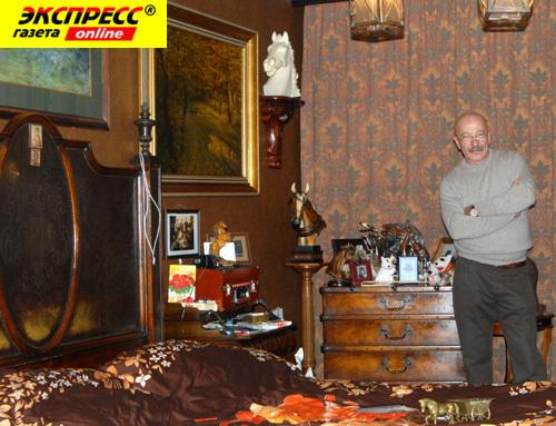 Александр Розенбаум дома (Фото)